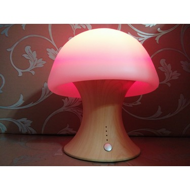 Tenswall 7 Color Changing Crystal Mushroom Night Light