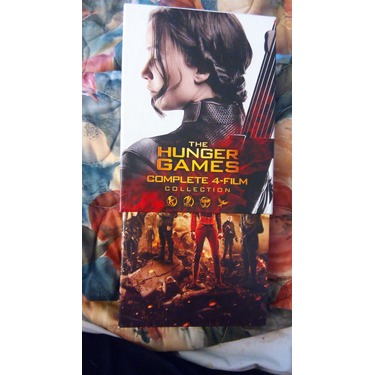 The Hunger Games Complete 4. Film collection Blue Ray