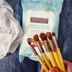 Eco Tools makeup brush cleaning wipes