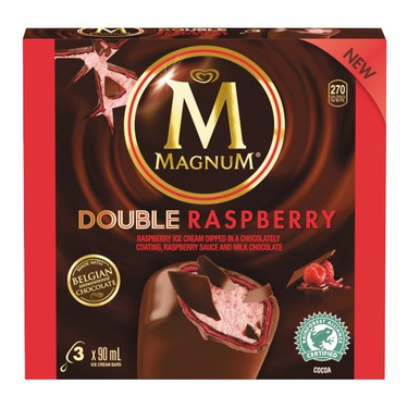 Magnum Double Raspberry Ice Cream Bars