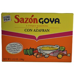Sazon Goya Con Azafran (Seasoning with Saffron)