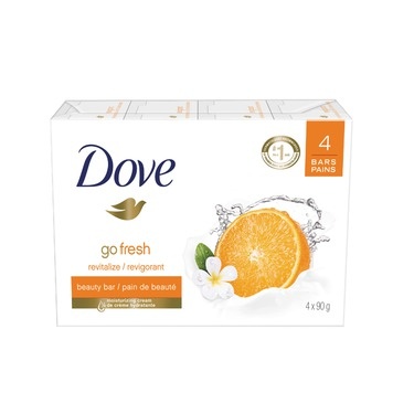 Dove Go Fresh Revitalize Mandarin & Tiare Flower Scent Beauty Bar