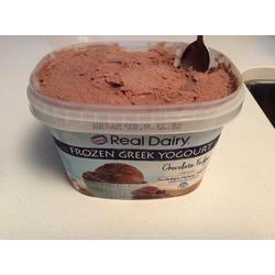 Nestle real cream chocolate fudge Greek yogurt
