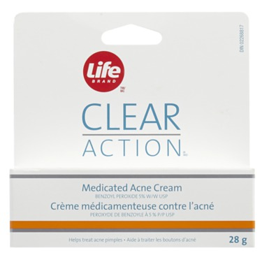 Life Brand Clear Action Medicated Acne Cream