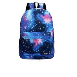 Toqu fashion canvas starry sky Galaxy backpack