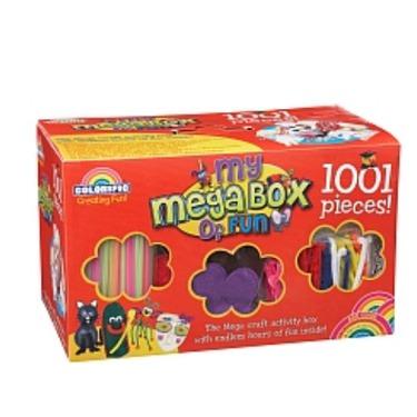 My megabox of fun 1001 piece craft activity box