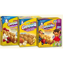 Nestlé Gerber Toddler Snacks CEREAL TWISTS®
