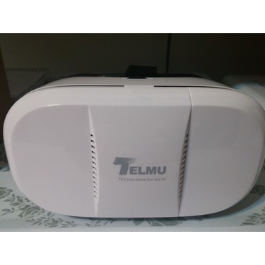 Telmu Virtual Reality 3D Glasses with Adjustable Focal & Pupil Distance for iPhone Samsung, HTC