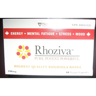 Rhoziva Natural Energy Supplement