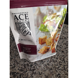 Roasted Garlic Croutons by Ace Bakery