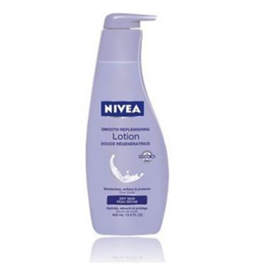 Nivea Smooth Replenishing Body Lotion for Dry Skin (with Shea Butter)