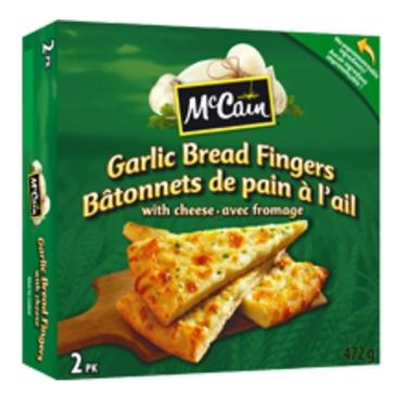 Mccain napoli garlic bread fingers