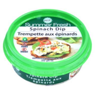 Summer Fresh Spinach Dip