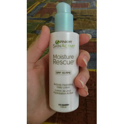 garnier skin active moisture rescue actively hydrating daily lotion (fragrance free)