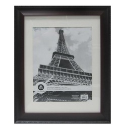 Eagan cherry black picture frame