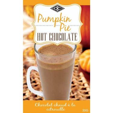 Orange Crate Pumpkin Pie Hot Chocolate