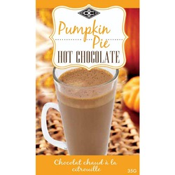 Orange Crate Pumpkin Pie Hot Chocolate