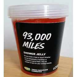LUSH Cosmetics 93,000 Miles Shower Jelly
