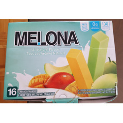 Melona Frozen Bars Honeydew Melon
