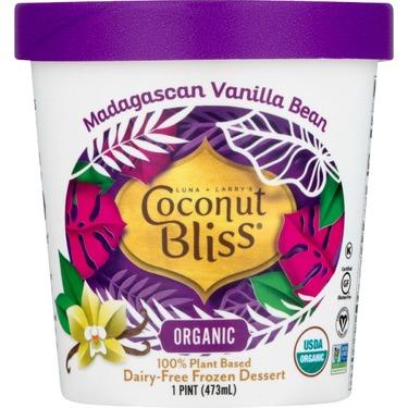 Coconut Bliss Dairy Free Ice Cream Vanilla