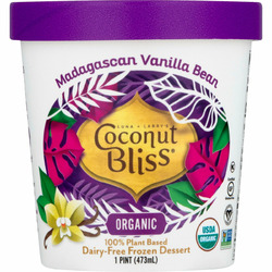 Coconut Bliss Dairy Free Ice Cream Vanilla