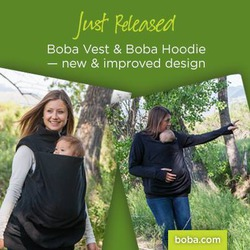 Boba/Peekaru Fleece Vest (Baby Wearing)