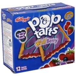 Pop-tarts wild berry