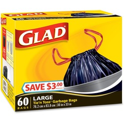 Glad Tie and Toss Garbage Bags