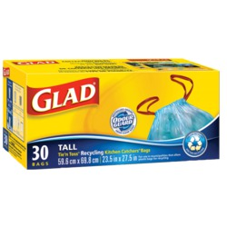 Glad Blue Recycling Bags