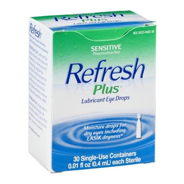 Refresh Plus Lubricant Eye Drops (Single-Use Containers)