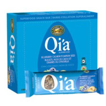 Qia Superfood Snack Bar - Blueberry Cashew Pumpkin Seed