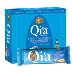 Qia Superfood Snack Bar - Blueberry Cashew Pumpkin Seed