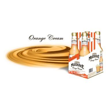 Orange Cream Vodka Mudshake