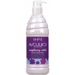 OPI Avojuice Raspberry Violet Hand and Body Lotion