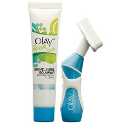 Olay Fresh Effects Va-Va-Vivid Powered Contour Cleansing System Brush