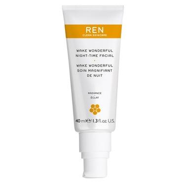 Ren clean skincare Wake wonderful night-time facial