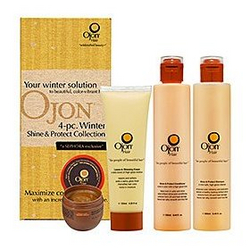 Ojon 4-Pc Winter Shine & Protect Collection