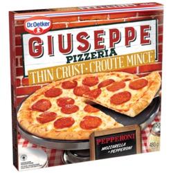 Giuseppe Pizzeria Thin Crust Pepperoni Pizza
