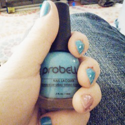 "Probelle nail lacquer ""Into the Blue"""