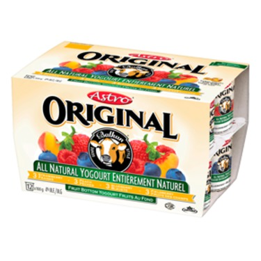 Astro Original Balkan Style All-Natural Peach/Strawberry/Blueberry/Fieldberry Multipack