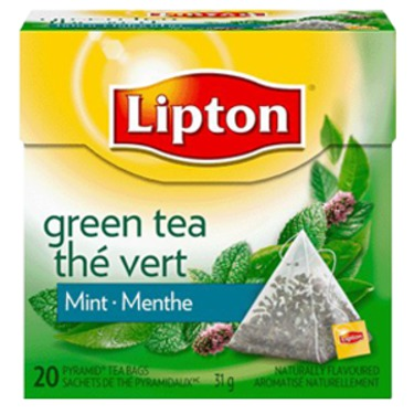 lipton green tea mint pyramid tea bags reviews in tea chickadvisor. Black Bedroom Furniture Sets. Home Design Ideas