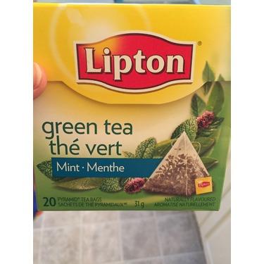 Lipton Green Tea Mint Pyramid Tea Bags