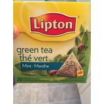 Lipton Green Tea Mint Pyramid Tea Bags
