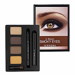 Sephora Brown Smoky Eye Tutorial Kit