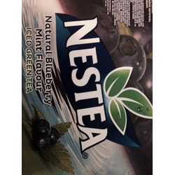 Nestea natural blueberry mint flavour