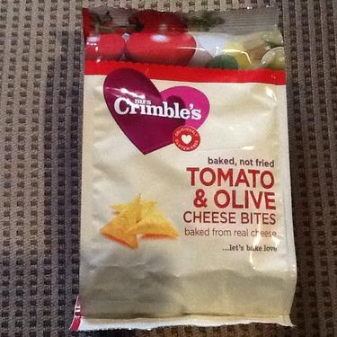 Mrs Crimble's Tomato & Olive Cheese Bites