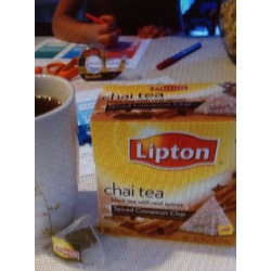 Lipton Chai Tea Cinnamon and Spices Pyramid Tea Bags