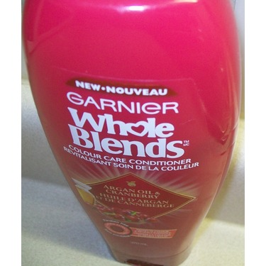 Garnier Whole Blends Argan Oil & Cranberry Conditioner
