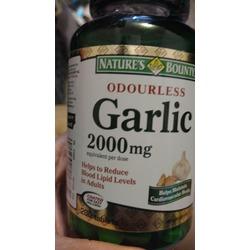 Nature's Bounty Odorless Garlic pills