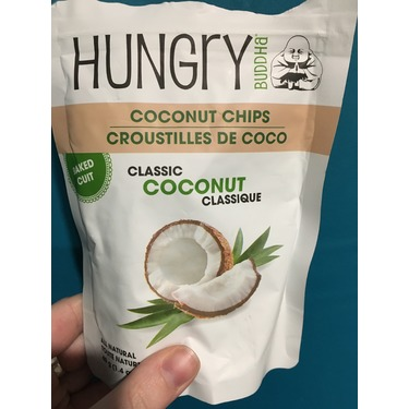 Hungry Buddha - Coconut Chips (Regular)